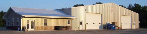 portable buildings manufacturing facility