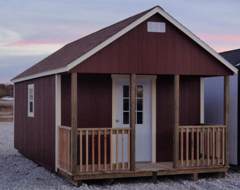 Country cottage gt portable buildings storage sheds tiny houses easy