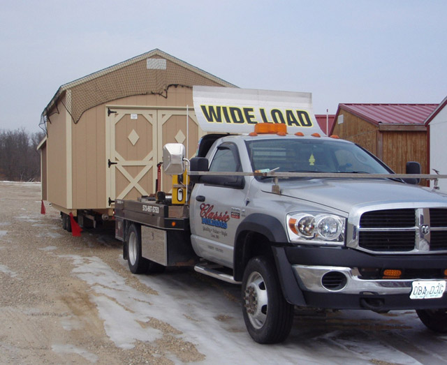 See The Trucks Portable Buildings Storage Sheds Tiny