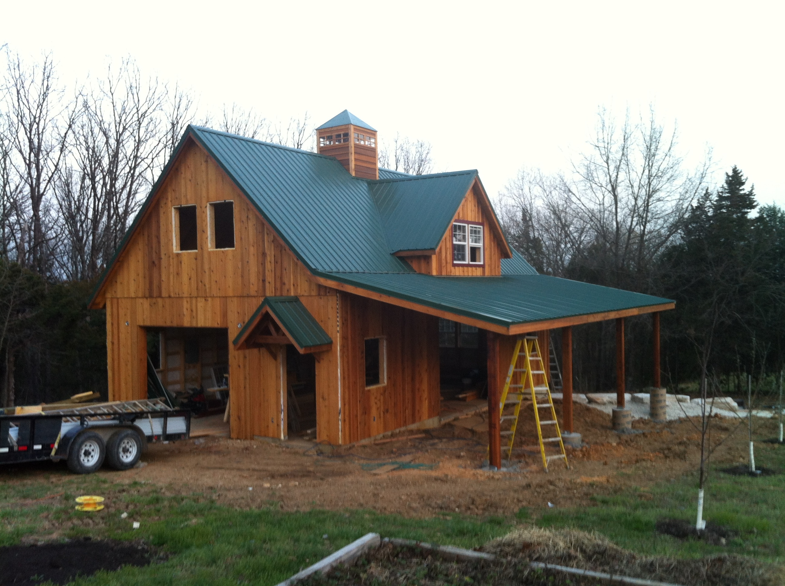 Our custom build in washington mo portable buildings for Custom built house