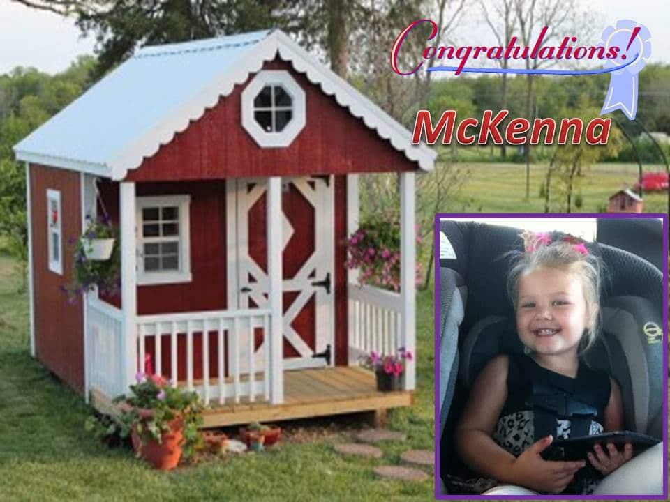 McKenna Winner & Prize