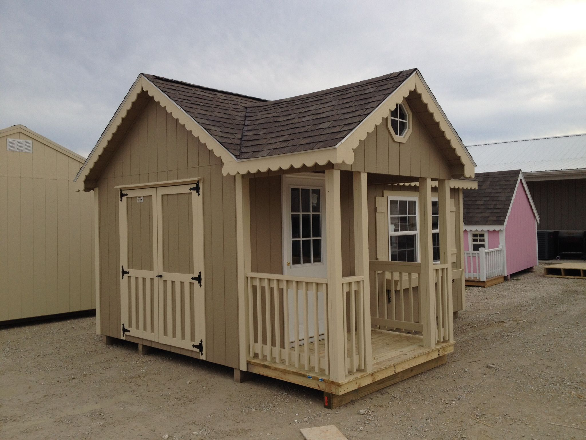 Tiny House With Porch Portable Buildings As Gifts
