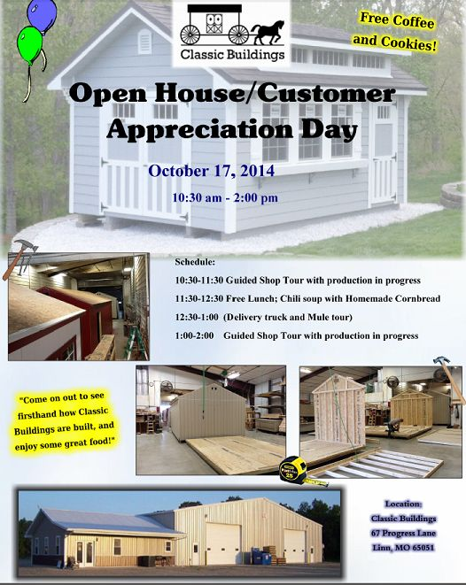 Open house Oct 2014