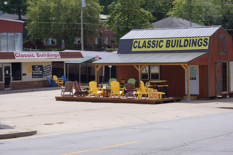 Amish Built Garages Missouri : Portable buildings storage sheds outbuildings classic