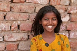 the richest little poor girl I ever did meet.
