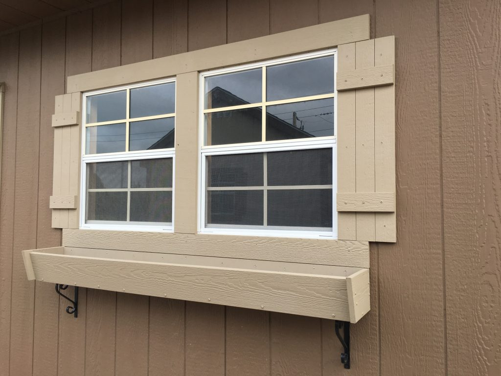 14x28 shed window