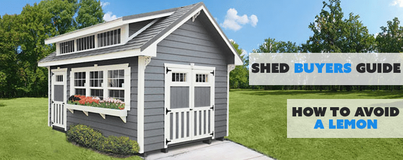 Classic Buildings Buy Shed - Shed Buyers Guide