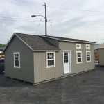 tiny house grey