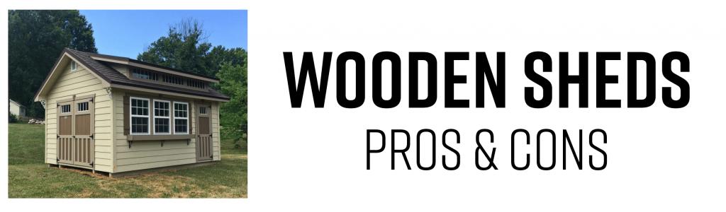 Wooden Sheds, Resin Sheds, vinyl sheds