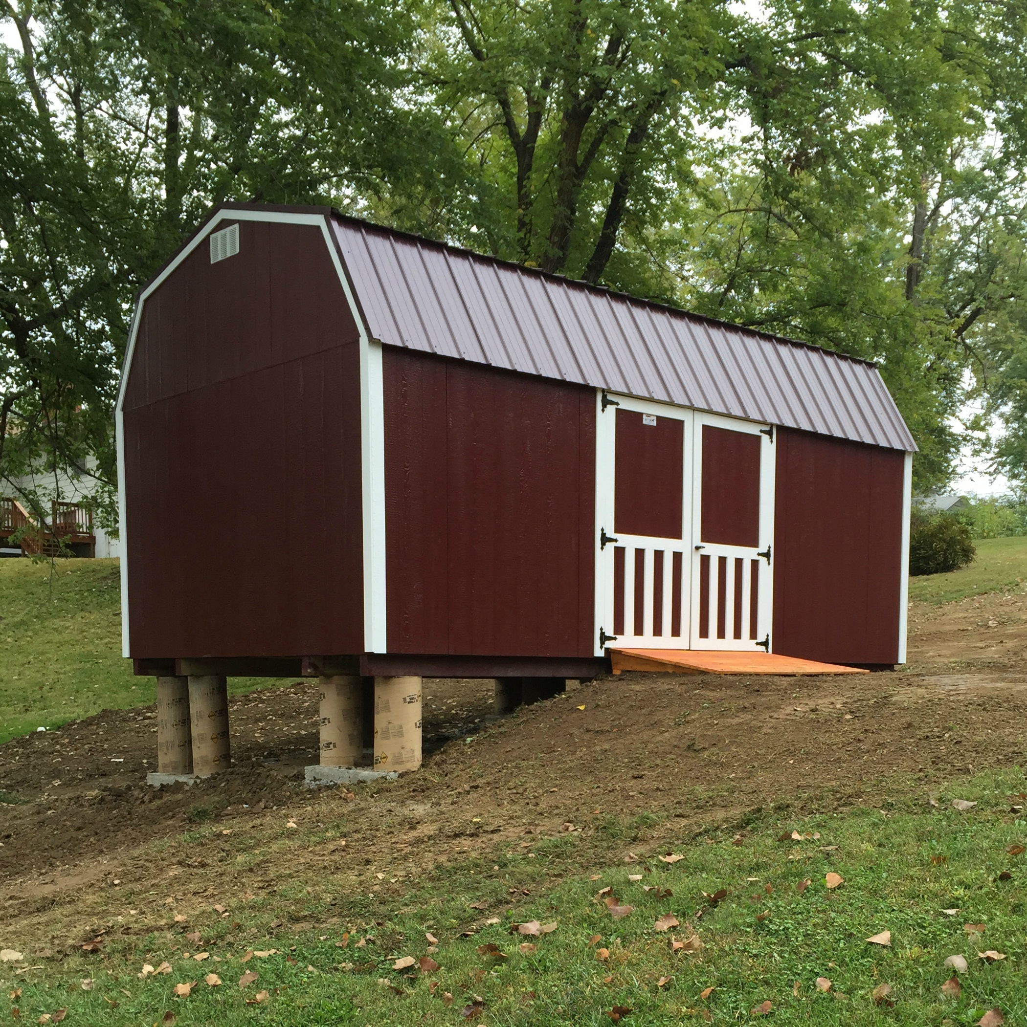 Portable Sheds And Houses : Foundation education gt portable buildings storage sheds