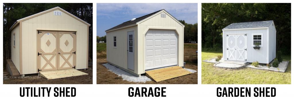 utility shed, garage, garden shed