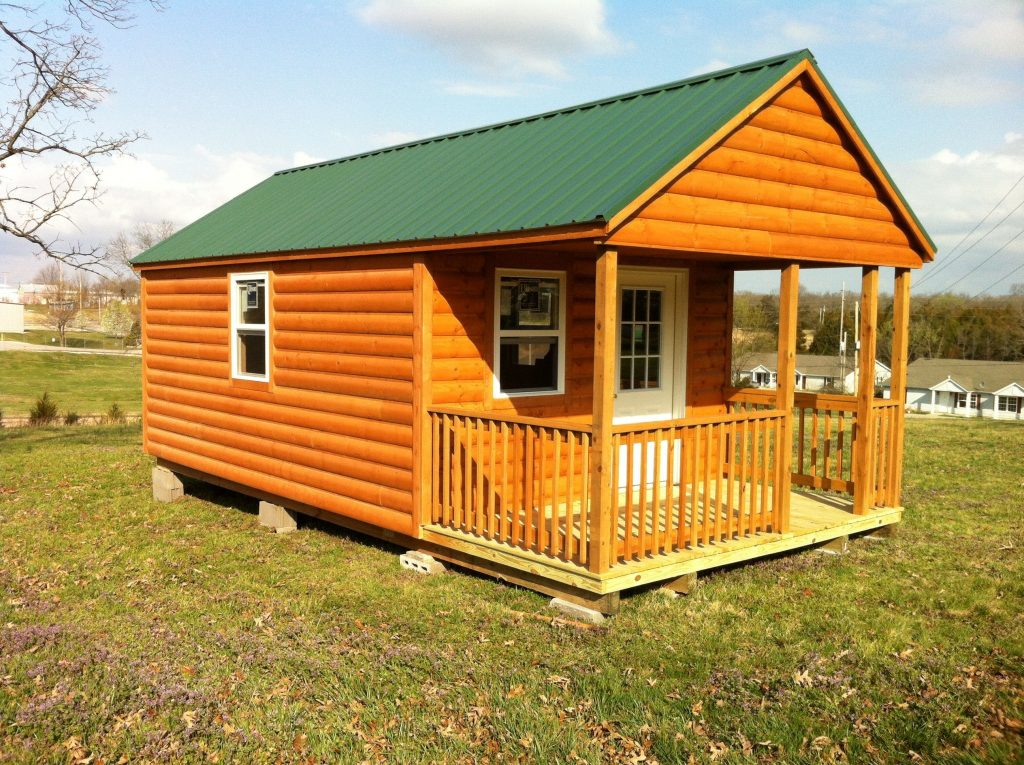 Portable Sheds And Houses : Country cottage gt portable buildings storage sheds tiny