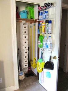storage closet - Home storage hacks