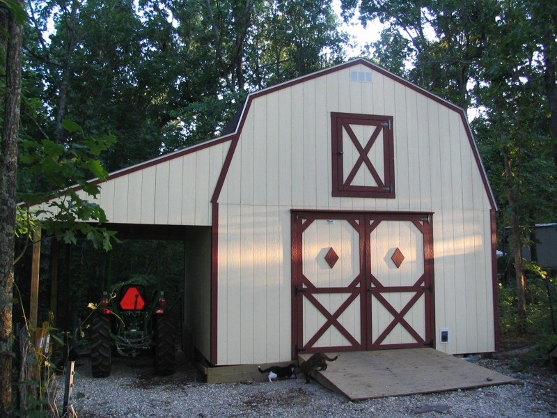 two story country barn