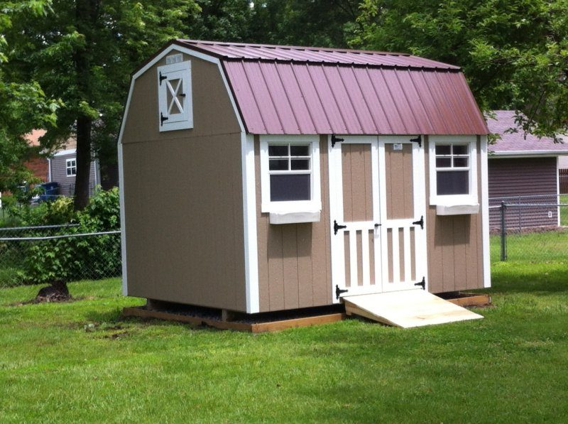 Two story sheds by classic buildings for Two story buildings