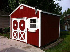 custom built utility shed