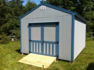 medium size shed