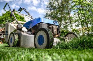 lawn mower storage