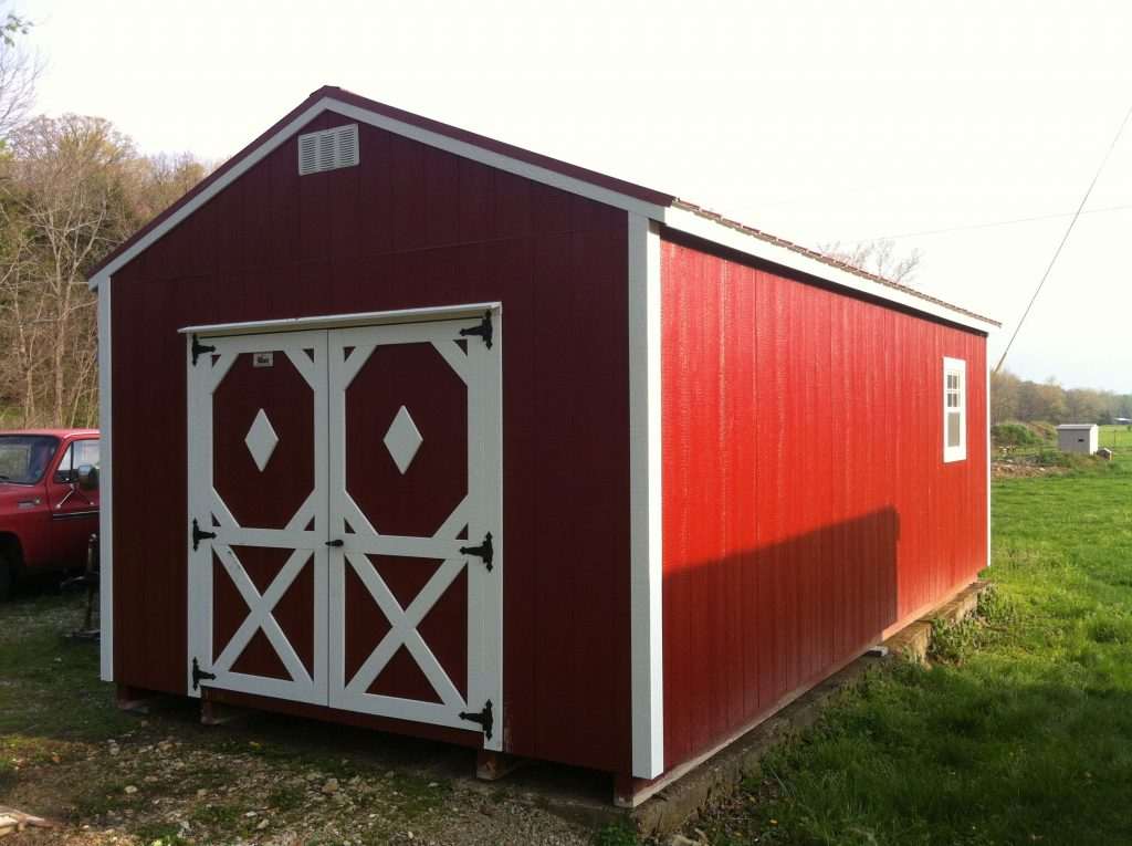 14x24 Shed Garden Lofted Barn And Utility Shed Models