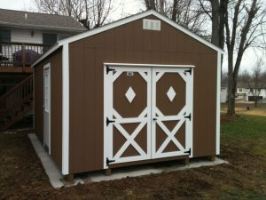 12x28 utility shed
