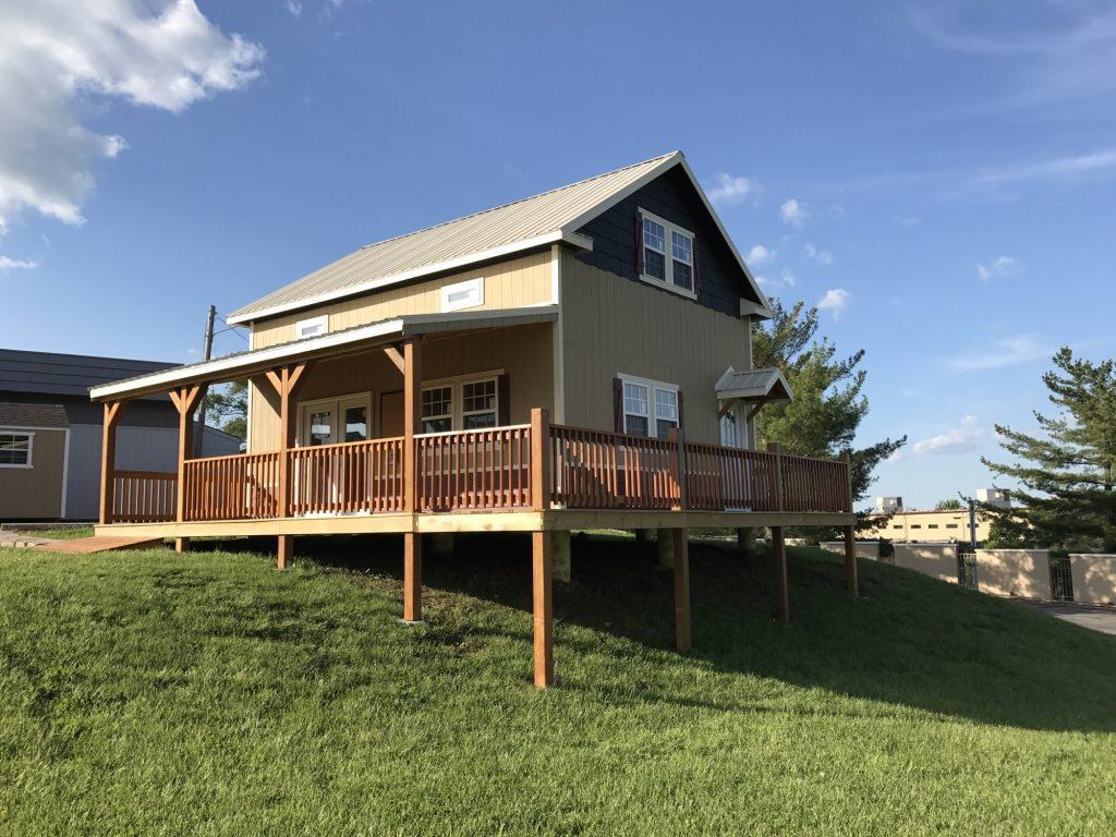 prebuilt cabin