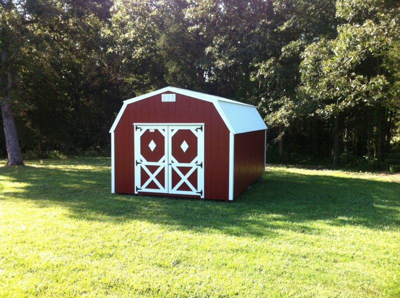 lofted Barn sheds