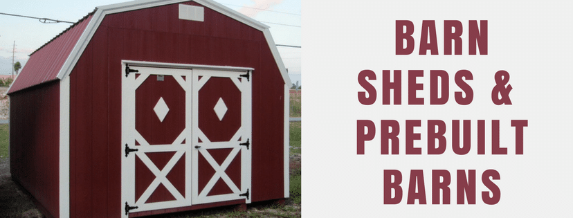 Barn sheds & prebuilt barns
