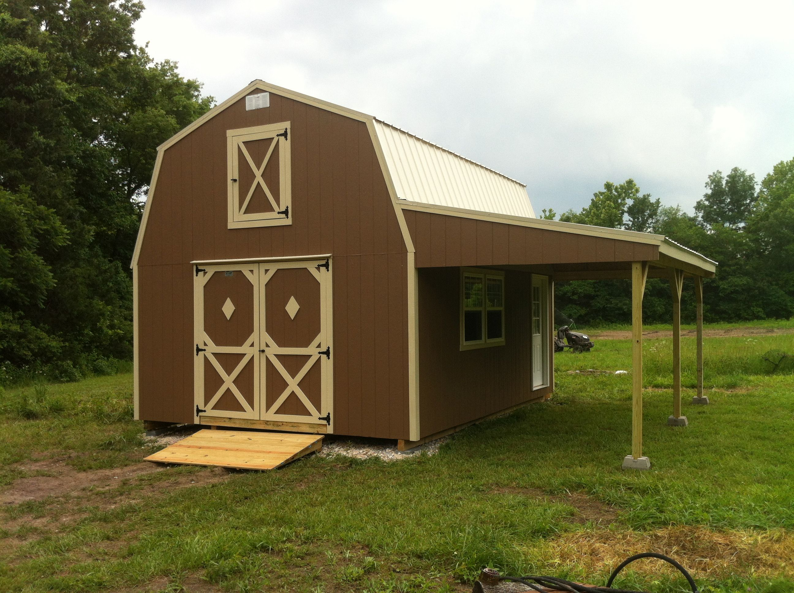 Outdoor storage sheds kansas city portable buildings for Country barn builders