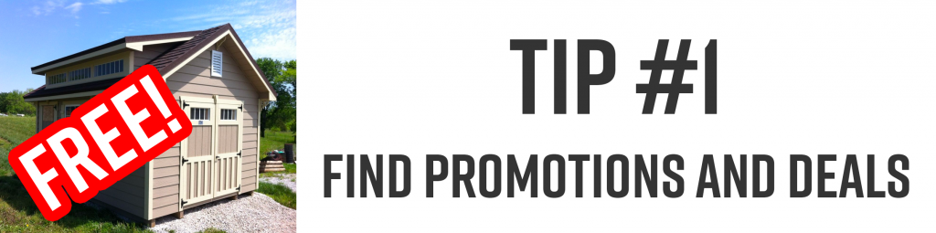 find promotions and deals