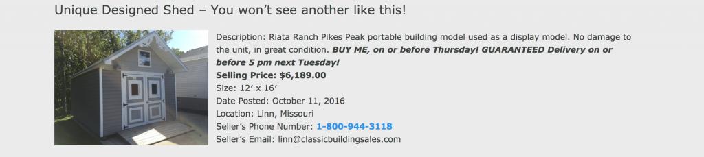 outdoor shed deals, storage unit deals