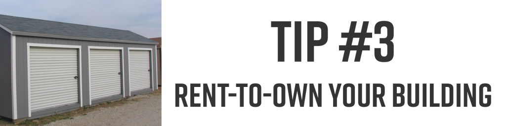 rent-to-own your building