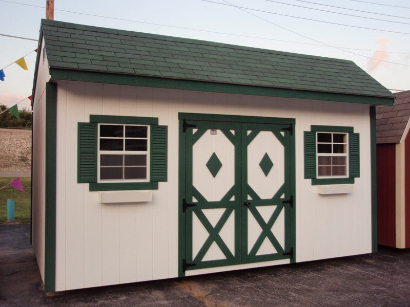 Quaker Shed by Classic Buildings