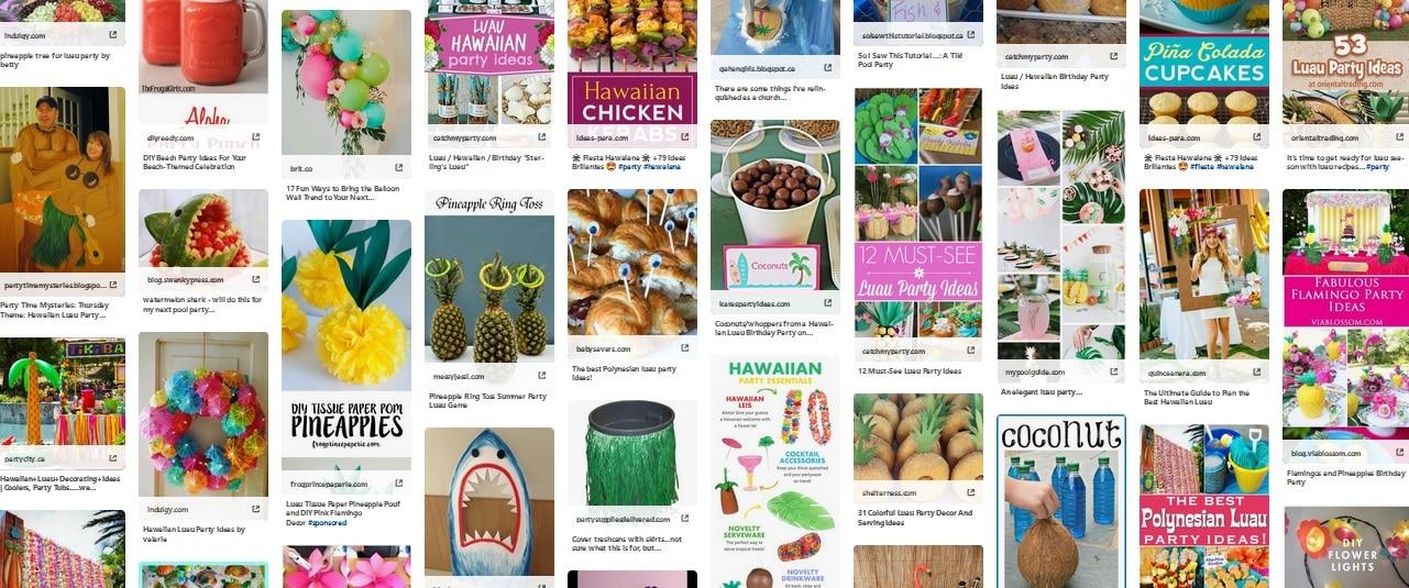 Hawaiian Luau ideas