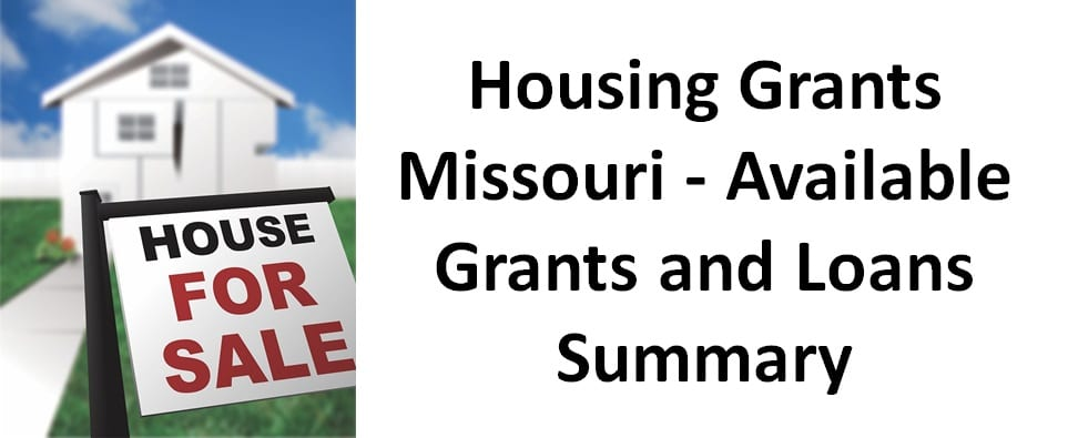 housing grants missouri