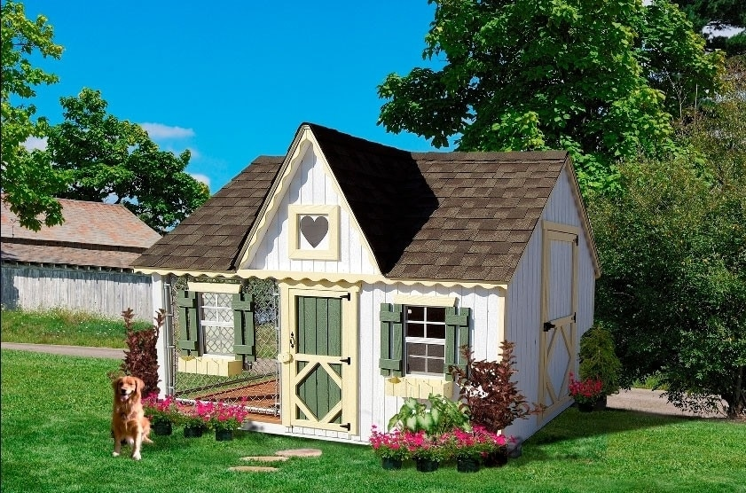 Victorian kennel dog house