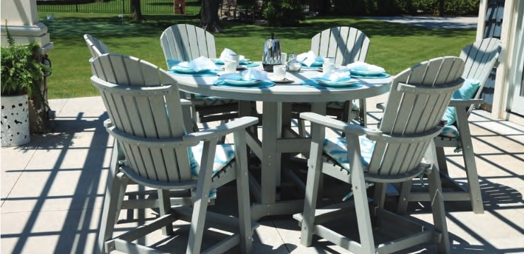 Berlin Gardens Outdoor dining set