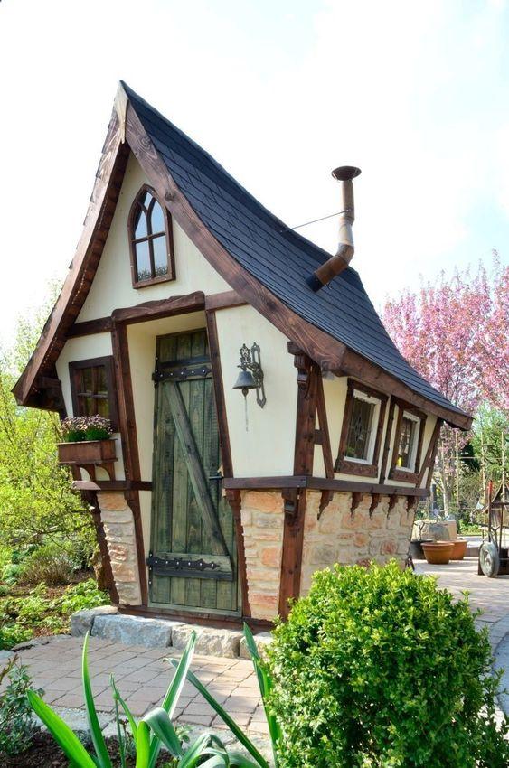 Unique fairy shed