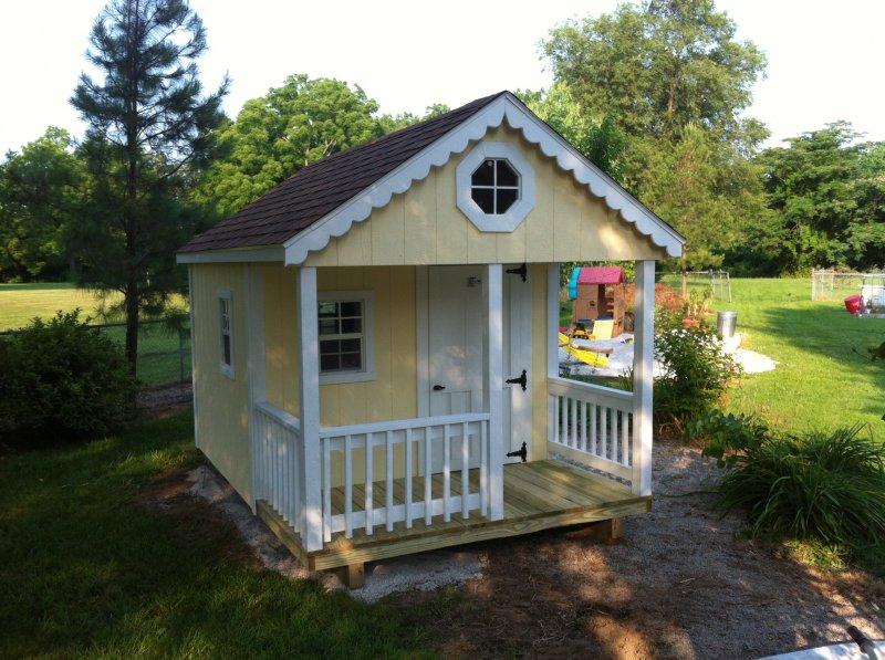 yellow playhouse