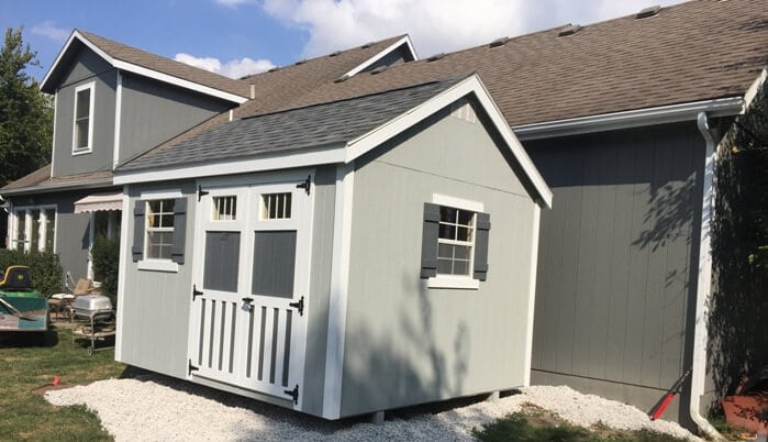 Garden Cottage customized to match home