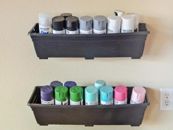 spray paint can holders