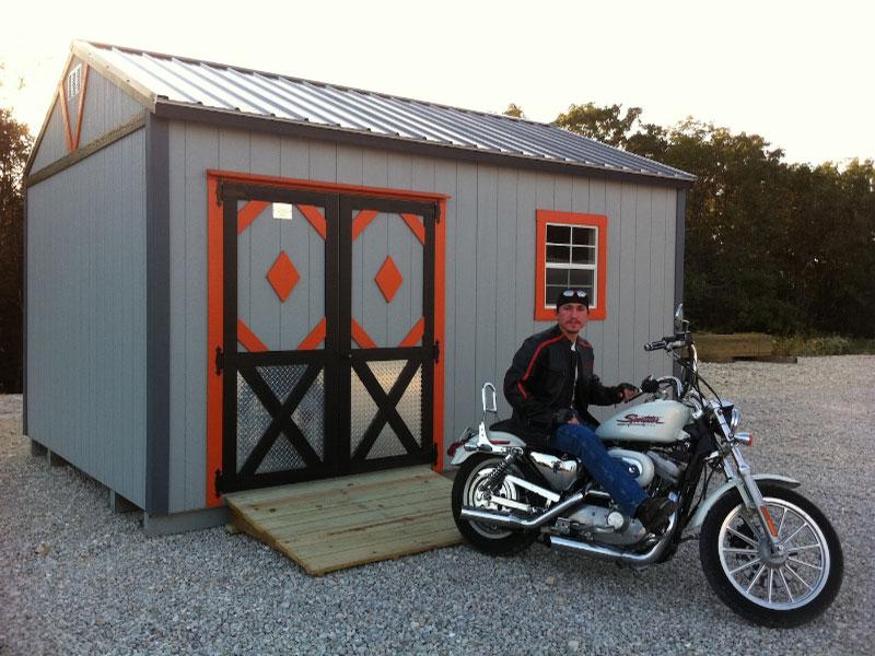 biker shed