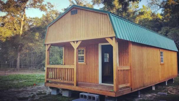 tiny house prefab barn