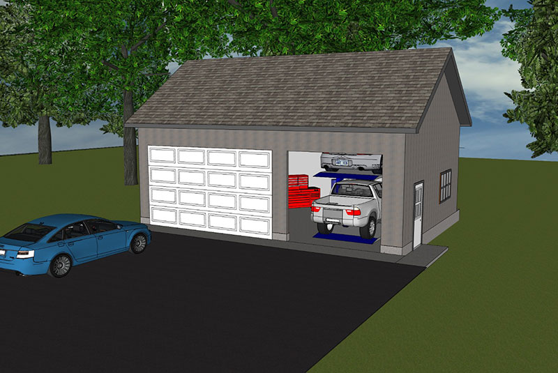 Mechanics Garage Gt Classic Buildings