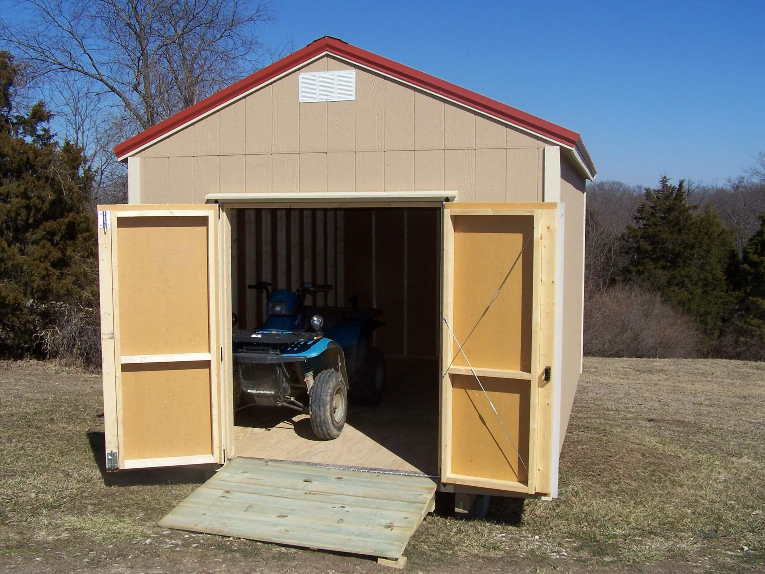 classic utility shed