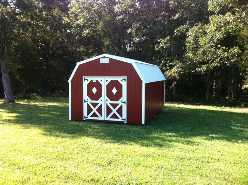 miniature barn wooden mini barn Missouri