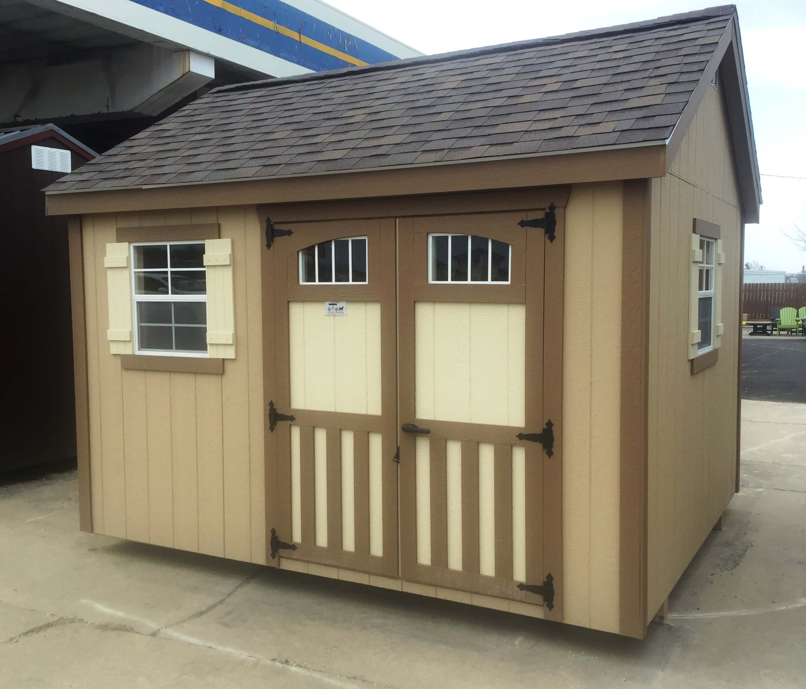 quality wooden sheds in Missouri garden cottage