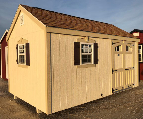 Chateau Series Quaker Shed Gt Classic Buildings
