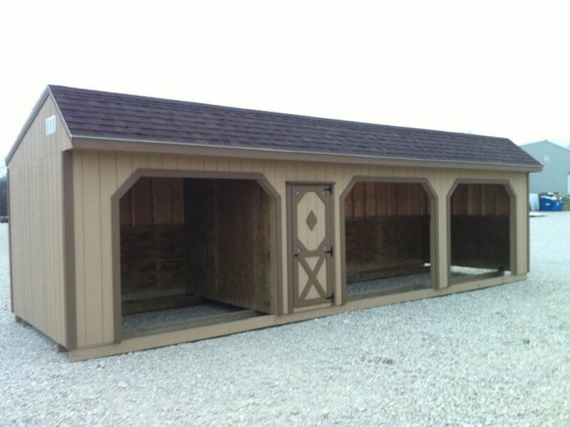 Classic Horse Shed