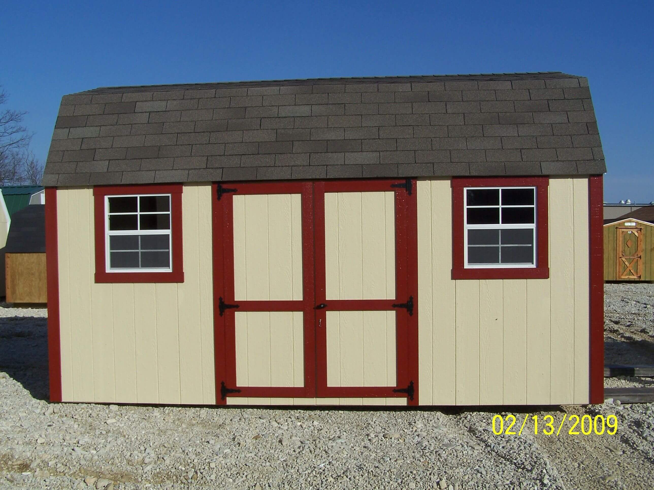 wooden portable barns with lofts in mo Missouri near me lofted garden barn classic buildings