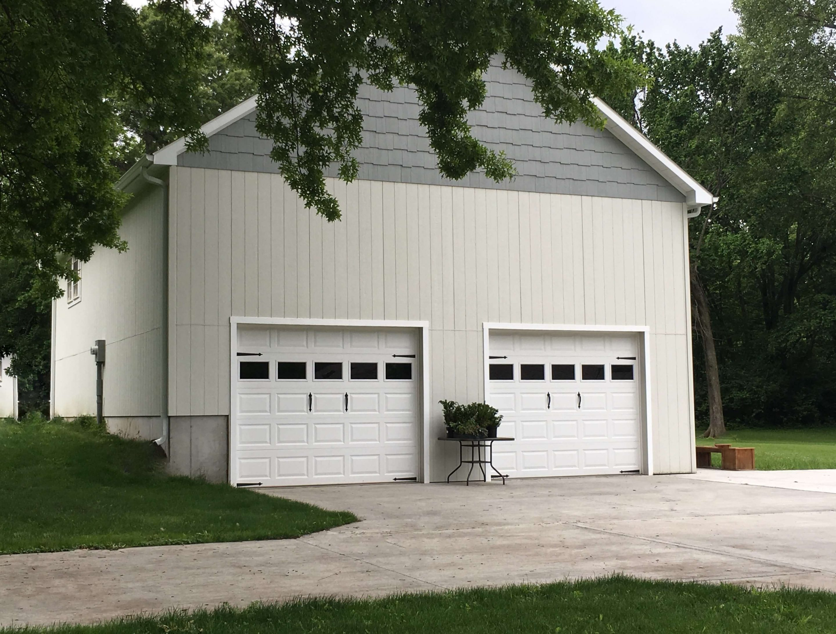 custom two car garages 2 car garages